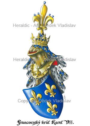 Francouzský král Karel VII.